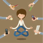 How to Keep Peaceful Mind and Deep Concentration while Achieving Goals